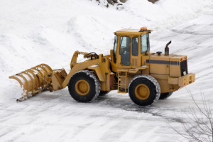 Commercial Snow & Ice Management - Greener Horizon Landscape Management & Construction, Middleboro, MA