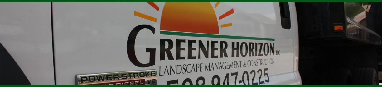 Greener Horizon Company Truck