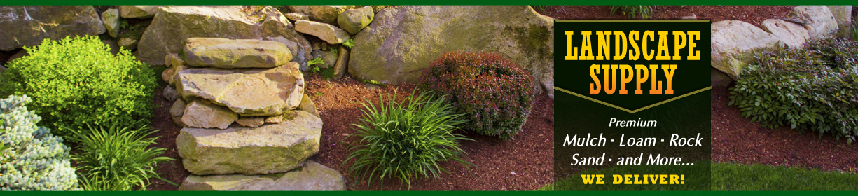 Landscaping Materials Mulch : Landscape supply open for the season as professional