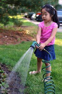 Garden Watering Child