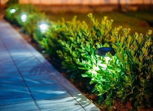 Solar Garden Light, Pathway landscape lighting