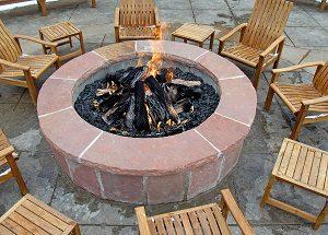 Landscape Design Outdoor Fireplace Vs Fire Pit Greener Horizon